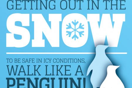 Go Outdoors - Safety in the Snow Infographic