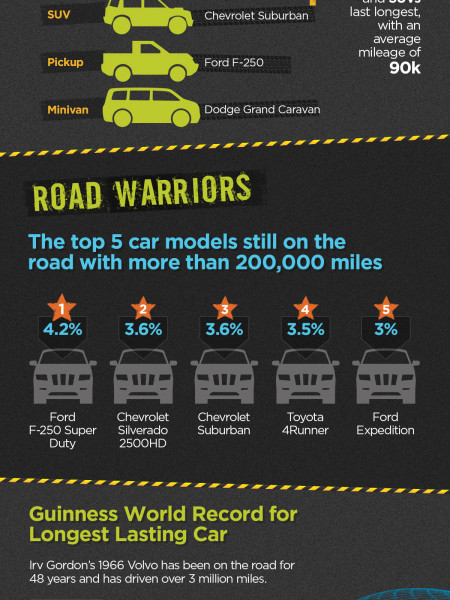 Go the Extra Mile: Car Life Expectancy Trends Infographic