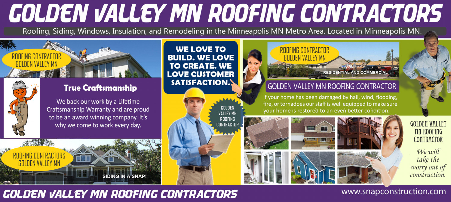 Golden Valley MN Roofing Contractors Infographic