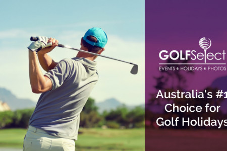 GOLFSelect - Australia's #1 Choice for Golf Holidays Infographic