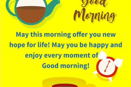 Good Morning Quotes in English Infographic