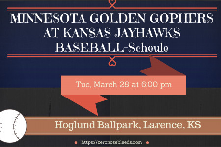 Gopher Baseball Schedule at Zeronosebleeds Infographic