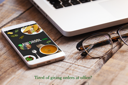 Gourmet food delivery by FooDrool Infographic