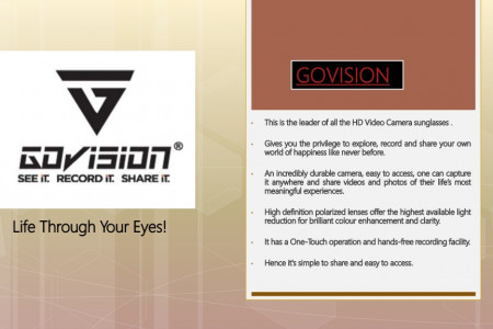 Govision Video Recording Sunglasses  Infographic
