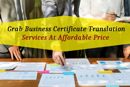 Grab Business Certificate Translation Services At Affordable Price  Infographic