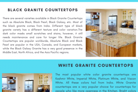 Granite Countertops   Granite Countertops pros and cons   Flodeal Infographic