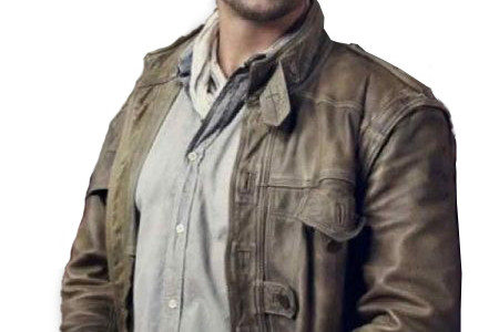 Grant Bowler Defiance Leather Jacket Infographic