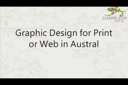 Graphic Design for Print or Web in Australia Infographic