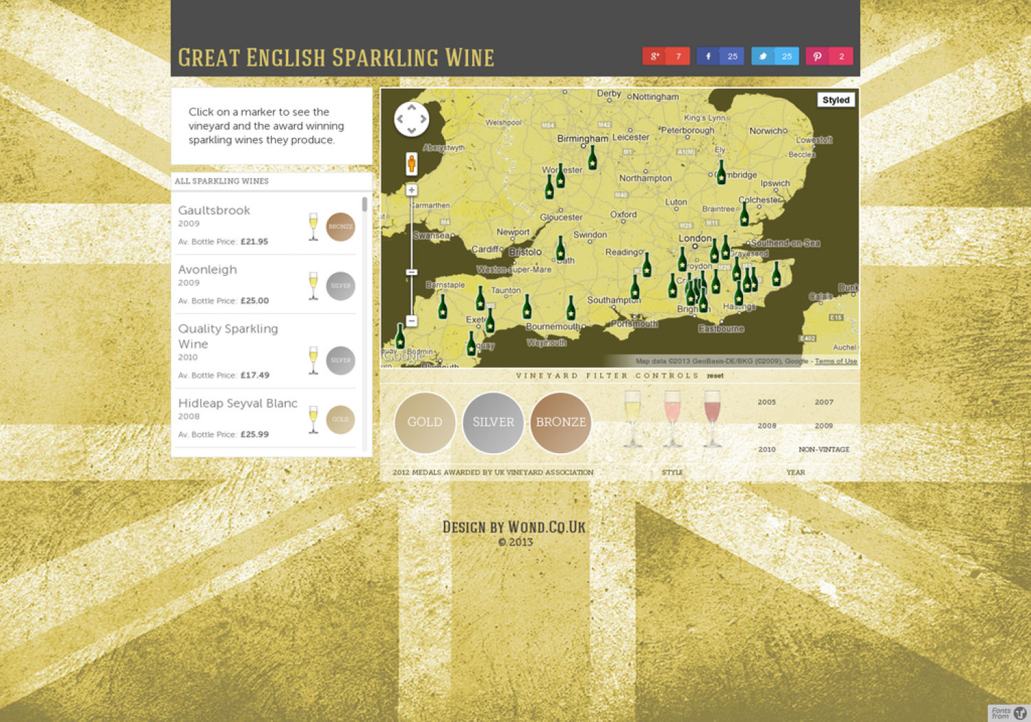 Great English Sparkling Wine Infographic