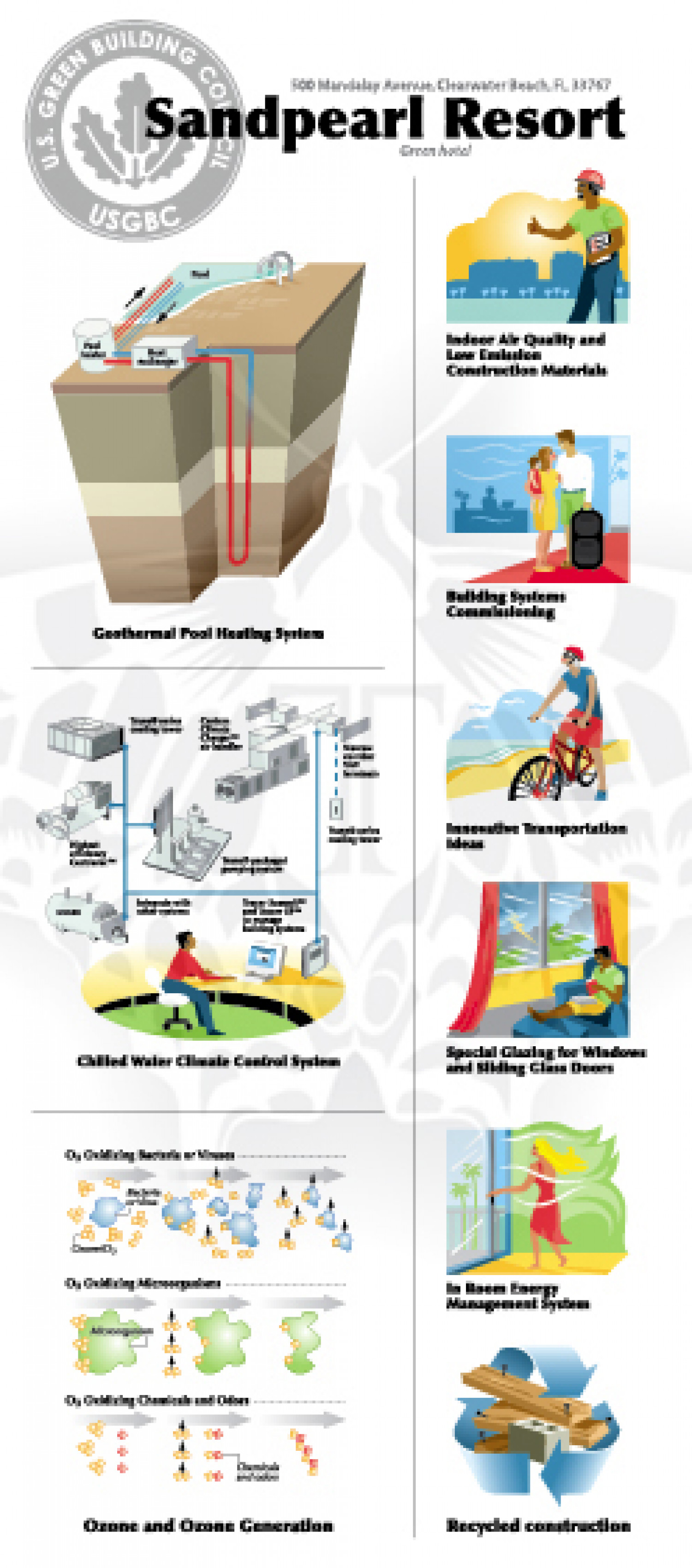 Green Hotel Infographic
