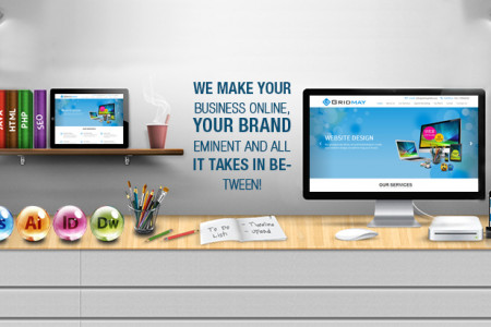 Gridmay India | Website Design & Development Company in Delhi NCR Infographic