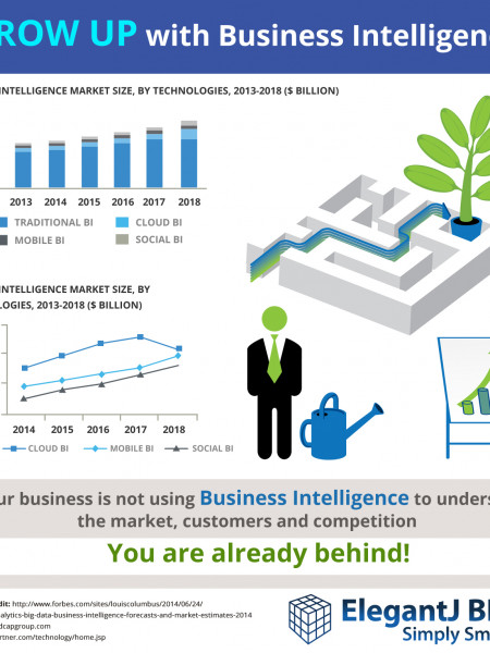 Grow up! BI is a MUST! Infographic