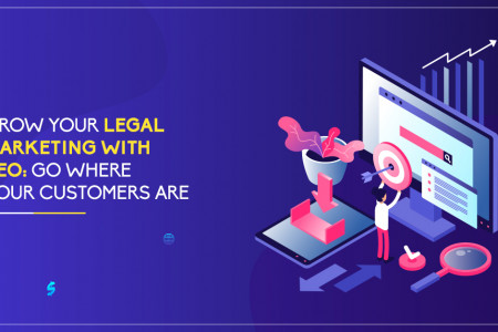 Grow Your Legal Marketing With SEO – Go Where Your Customers Are Infographic