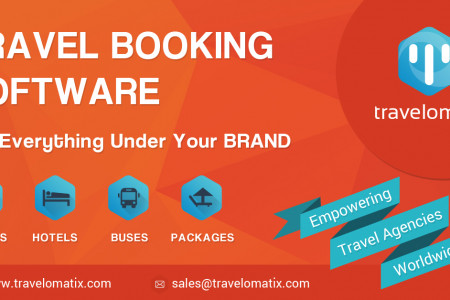 Growing Your Travel Agency Business with Travelomatix Booking System. Infographic
