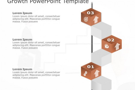 Growth PowerPoint Template Infographic