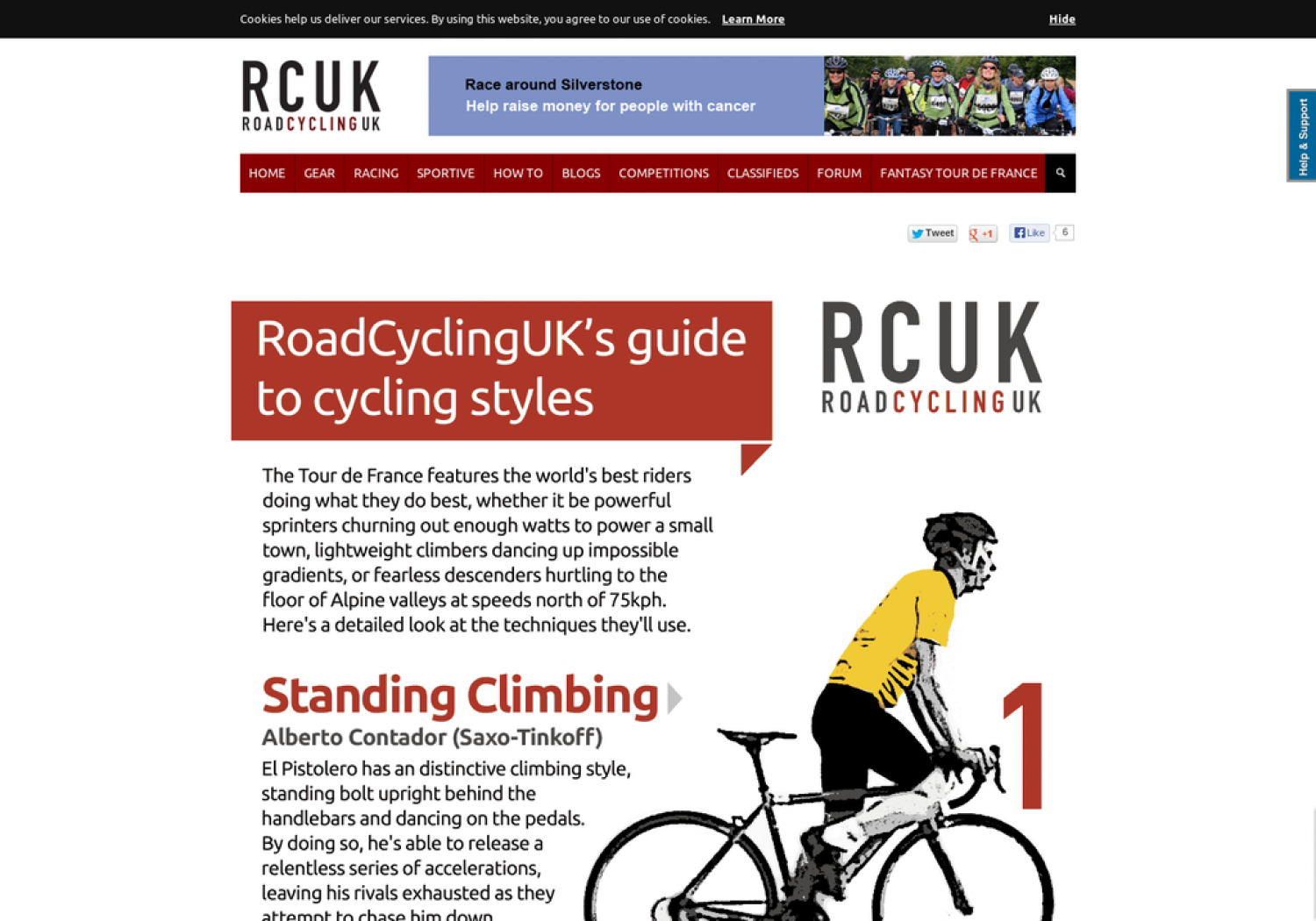 Guide to cycling styles Infographic