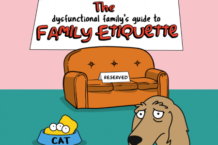 Guide to Dysfunctional Family Etiquette Infographic