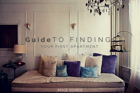 Guide to Finding Your First Apartment  Infographic