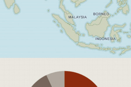 Guide to tourist numbers for holidays in Asia Infographic