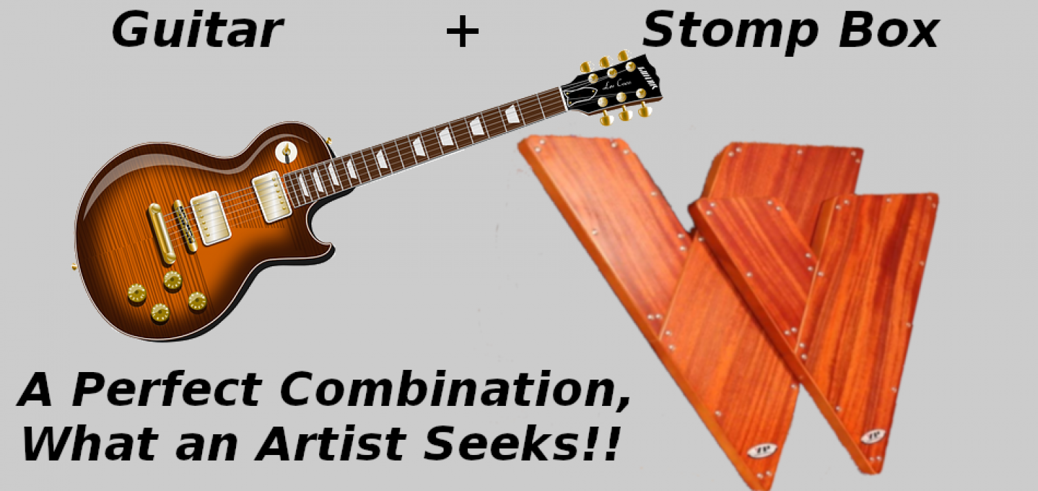 Guitar & Stomp Box, This is What an Artist Seeks!  Infographic