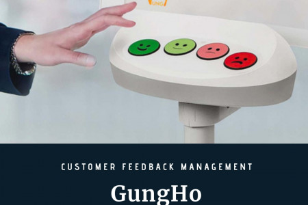 GungHo - Online Customer Feedback Management System Infographic