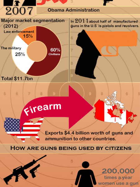 Facts About The US Gun Industry  Infographic