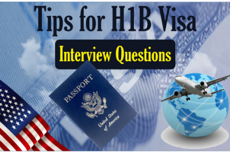H1B Visa Interview Questions & Tips  Infographic