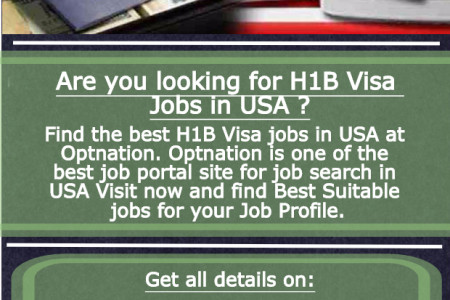 H1b visa jobs Infographic