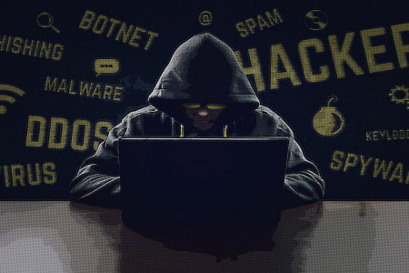 Hackerslist.co Hacking leads to computer-based crimes Infographic