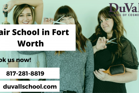 Hair School Fort Worth Infographic