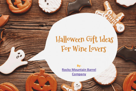 Halloween Gift Ideas For Wine Lovers- Rocky Mountain Barrel Company Infographic