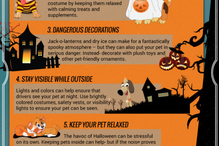 Halloween Pet Safety Tips Infographic