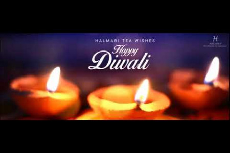 Halmari Tea Wishes You all a Very Happy and Enlighted Diwali. Infographic