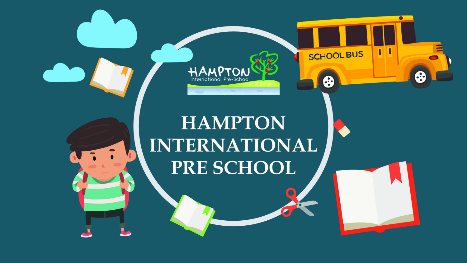 Hampton International Pre-School - Prep International Kindergarten Infographic