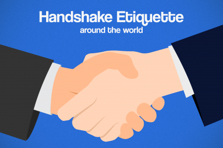 Handshake Etiquette Around The World Infographic