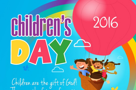 Happy Children's Day 2016 Infographic