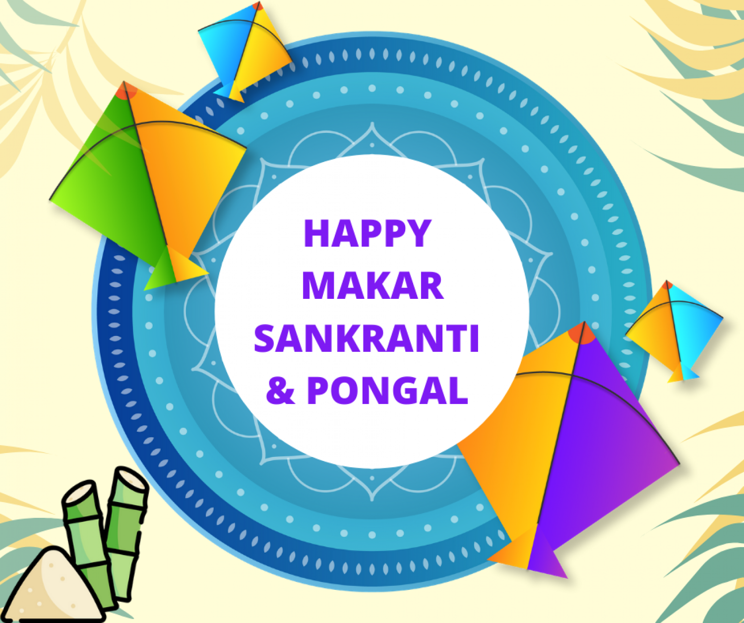 Happy Makar Sankranti & Pongal to all!  Infographic