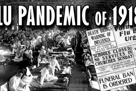 Hard Lessons To Learn - The 'Spanish' Flu Pandemic of 1918 Infographic