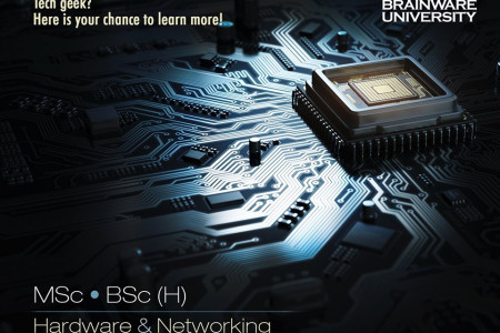 Hardware & Networking Courses. Infographic