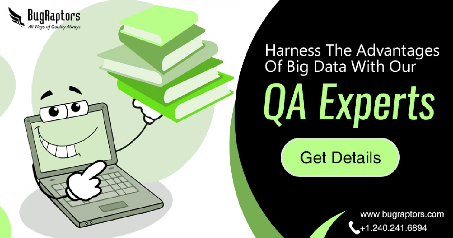 Harness the Advantages of Big Data Testing To Leverage Business Benefits Infographic