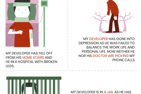 Have you lost your developer? Infographic