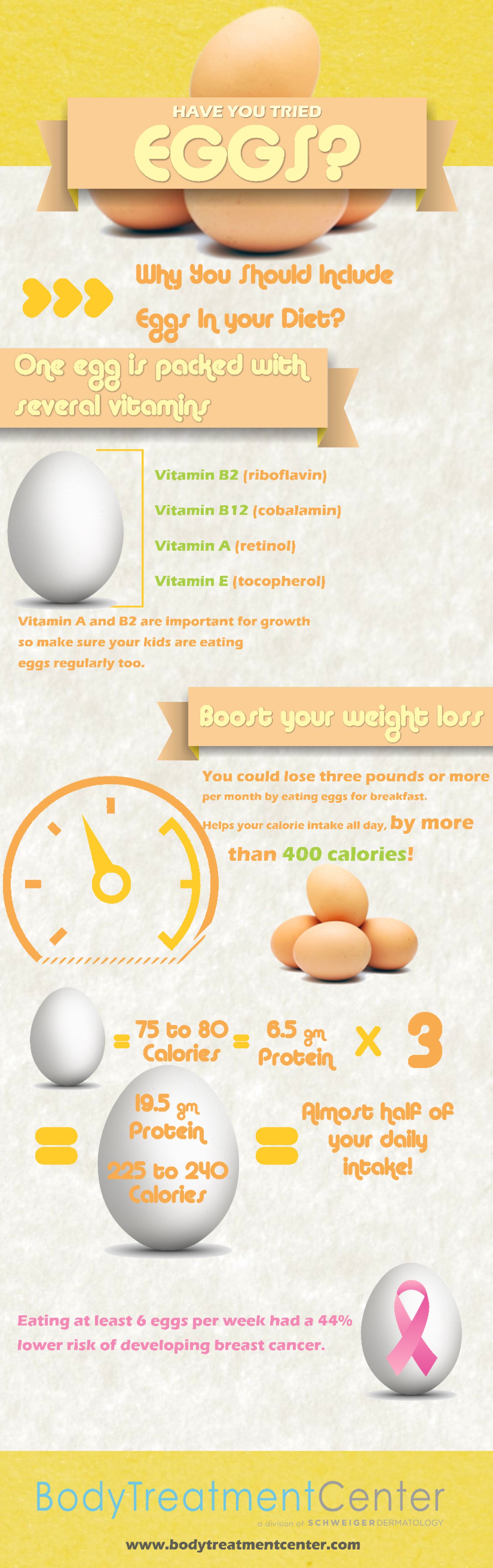 Have You Tried Eggs? Infographic