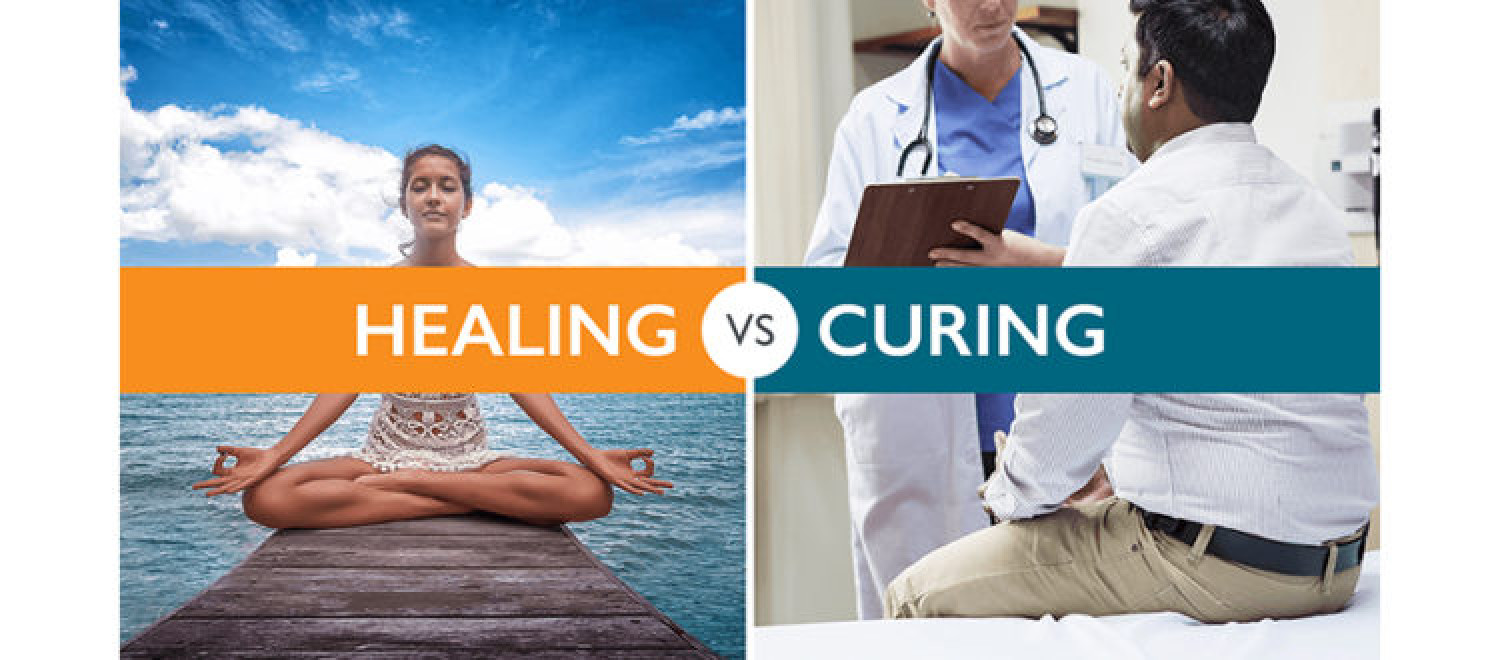 Healing vs. Curing Infographic