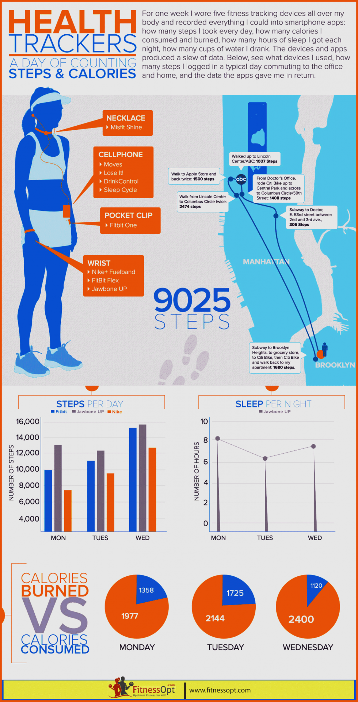 Health & Fitness Infographic Infographic