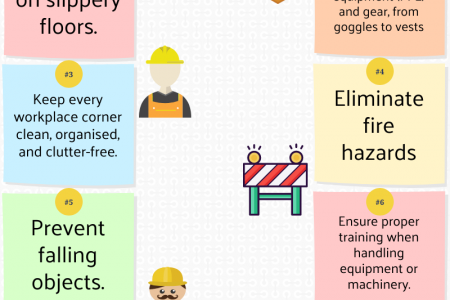 Health and Safety Tips At Workplace - BIS Training Solutions Infographic