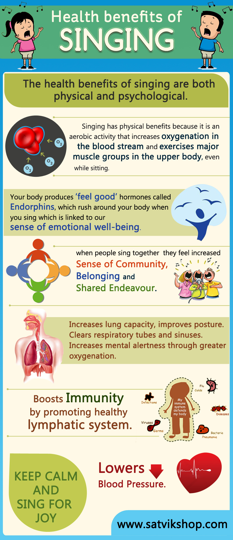 health benefits of singing visual ly