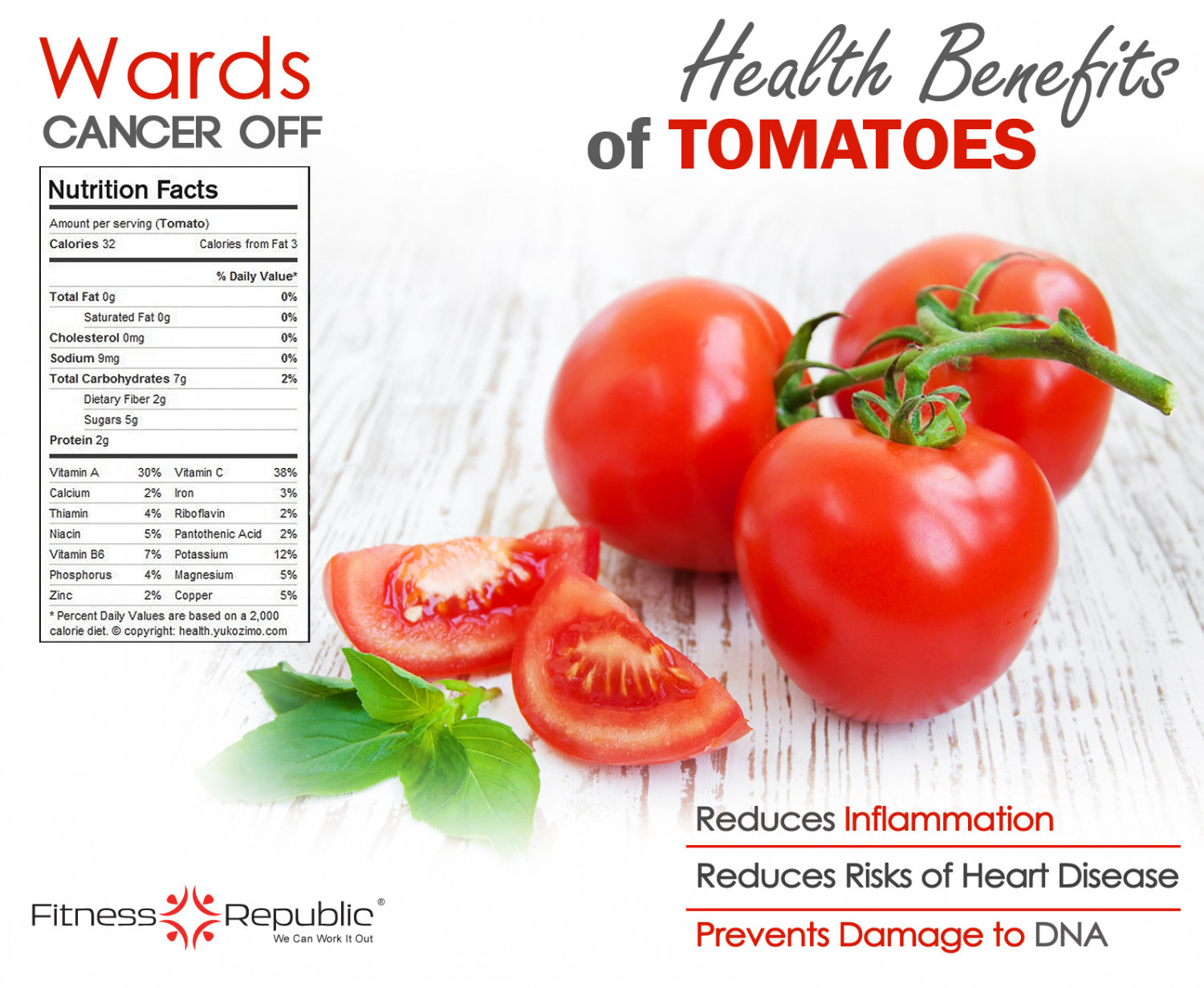 Tomatoes are the secret to a healthy heart