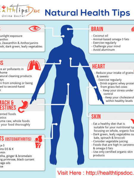 Health Tips for better life Infographic