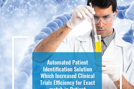 Healthcare IT Solution to Automate Patient Enrollment in Clinical Trial Infographic