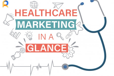 Healthcare Marketing: In A Glance (eBook) Infographic